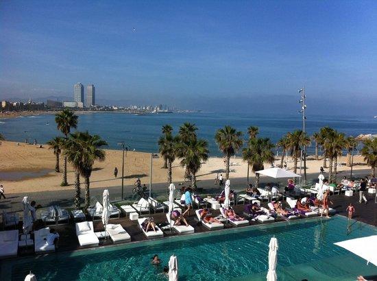 Even With Rainy Day It 39 S Looks Fantastic Picture Of W Barcelona Barcelona Tripadvisor