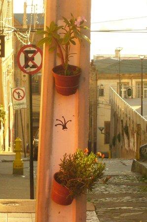 Hostal La Colombina de Valparaiso: Subida concepción