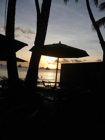 True Home Hotel, Boracay: Sunset