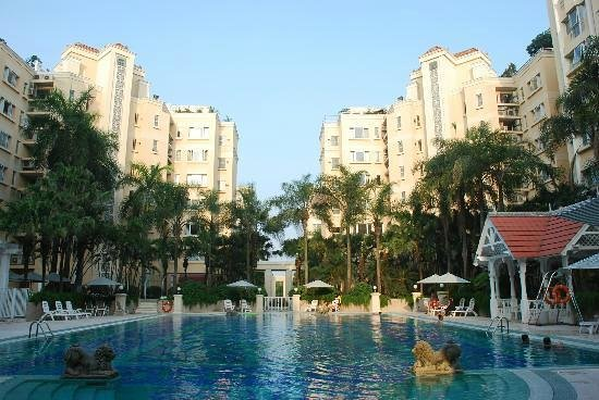 Oakwood Gold Arch Residence Guangzhou : Swimming Pool