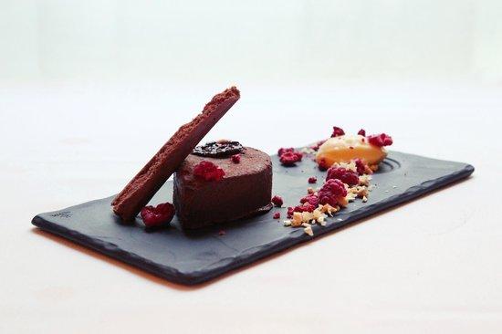 1907 Restaurant : chocolate plate