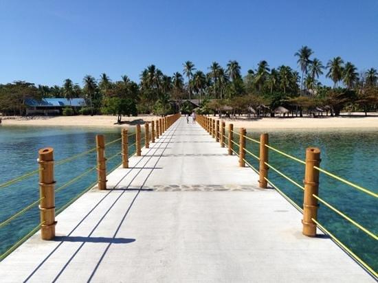 Dos Palmas Island Resort & Spa : the new Dos Palmas dock
