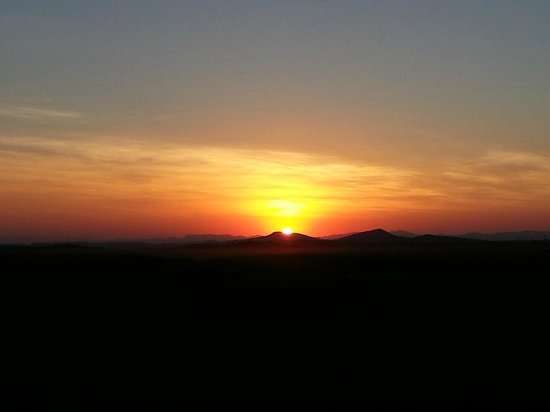 Lions Valley Lodge: Stunning sunsets