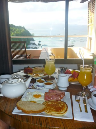 Nami Resort: Glorious breakfast!