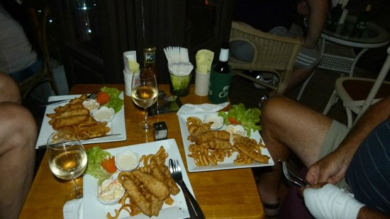 Citadines Sukhumvit 8 Bangkok: Viva restaurant - excellent fish and chips
