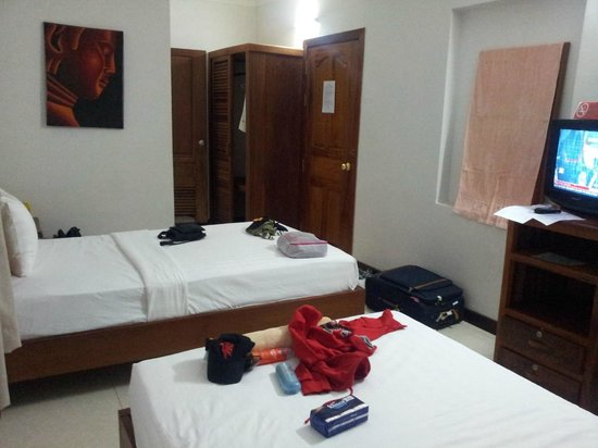 Siem Reap Rooms Guesthouse: Twin bed room