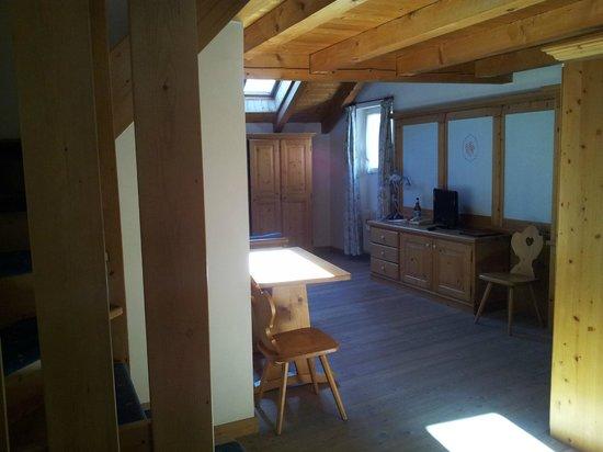 Kaiserkrone B&B: suite Rododendro - piano inferiore