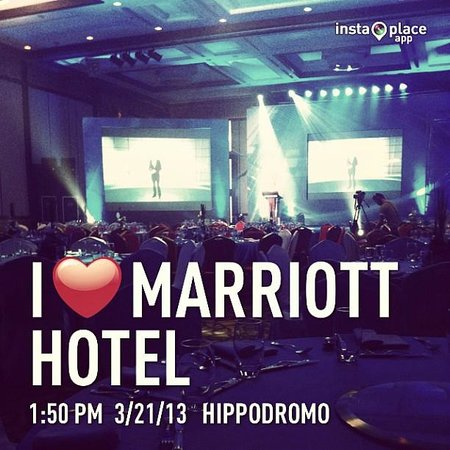 Cebu City Marriott Hotel: our ballroom set-up