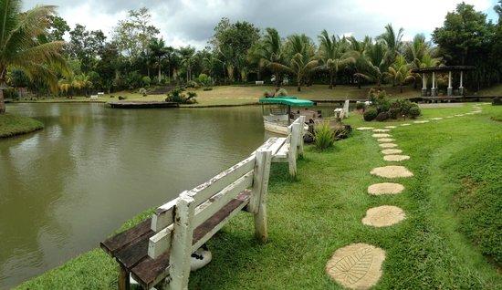 Rafael Farm: View of the lake