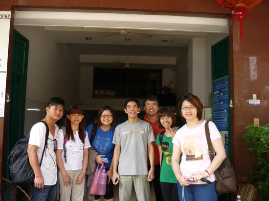 Europe Guest House: Photo with Lin :)