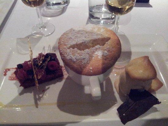 Le Bon Vivant : Soufflé dessert