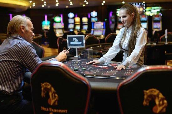 Fairmont Cairo, Nile City: Casino