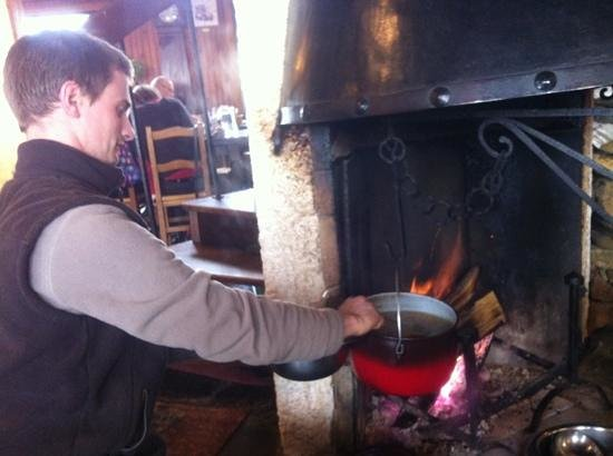 garbure au feu de bois Picture of Restaurant d'Iraty, Larrau TripAdvisor # Restaurant Feu De Bois