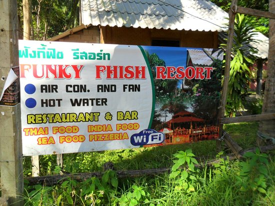 The Funky Fish: Funky Fhish