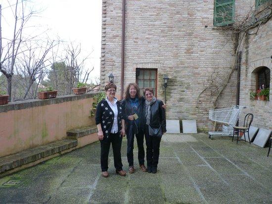 Ristorante I Tigli: visite par la patronne!!!