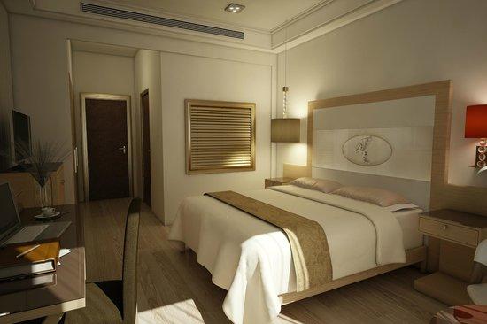 Pegasos Deluxe Beach Hotel: Deluxe room 2013