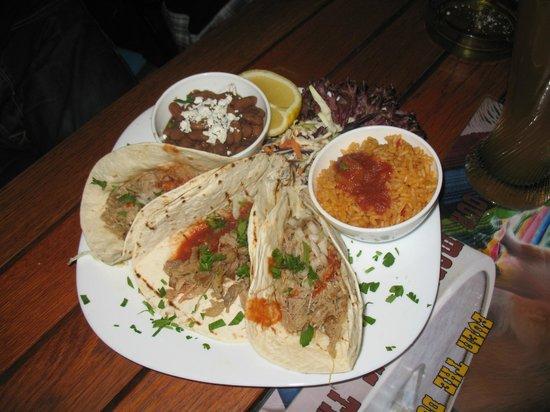 El Torito: The tacos are fair fare.