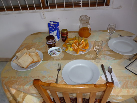 Chez May Paule Guesthouse : Colazione