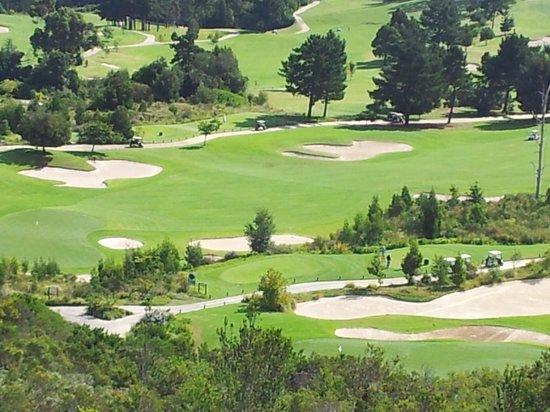 Simola Hotel Country Club & Spa : Sicht auf Golfplatz