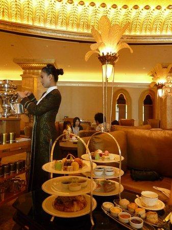 Emirates Palace Hotel Afternoon Tea