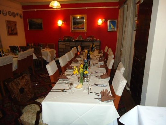 Struther Farmhouse: Large Dining Room