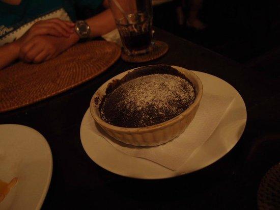 GRAZIE Italian Restaurant Kota Kinabalu: chocolate pudding, must try