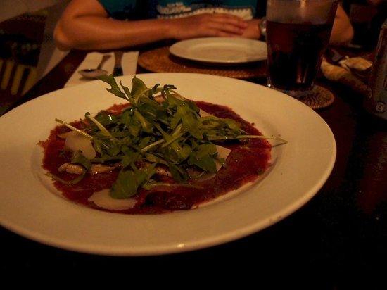 GRAZIE Italian Restaurant Kota Kinabalu: Beef Carpaccio