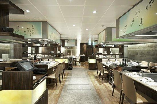 Hotel Okura Amsterdam : Teppanyaki Restaurant Sazanka