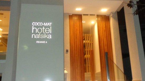 Coco-Mat Hotel Nafsika: Entrance
