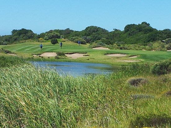 St Francis Golf Lodge: Golfplatz