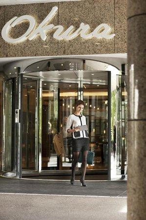 Entrance Hotel Okura Amsterdam