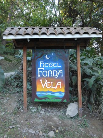 Hotel Fonda Vela: Here's where it all begins