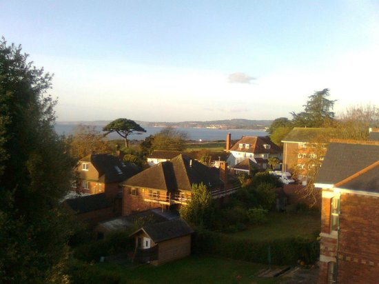 Devoncourt Resort & Apartments: a view from suite 5 across the estuary - suite 7 is better!