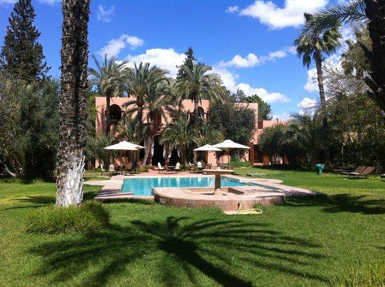 Dar Ayniwen Villa Hotel: Pool/Park