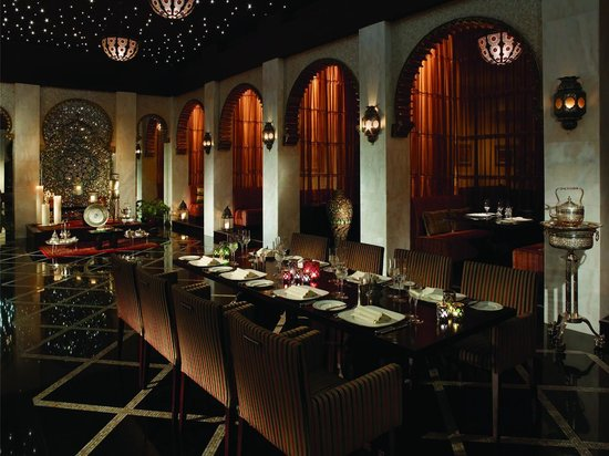 Shangri-La Al Husn Resort & Spa: Shahrazad restaurant