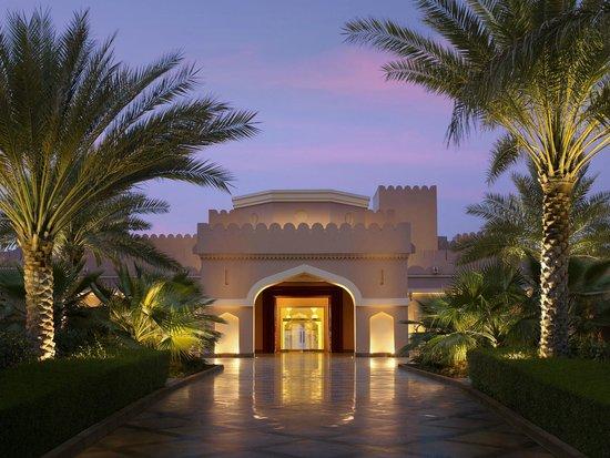 Shangri La Barr Al Jissah Resort & Spa-Al Husn: Al Husn Hotel Main enterance