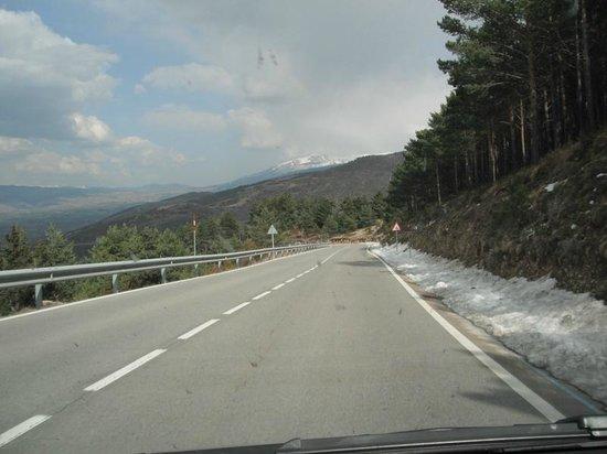 Estación de esquí La Masella: route to Masella Ski Resort
