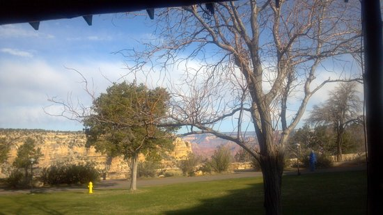 View from El Tovar dining room at breakfast - Picture of El Tovar ...