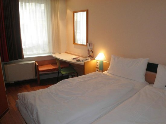 Ibis Muenchen City: that is what you get