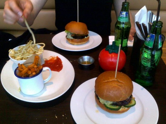 Gourmet Burger Kitchen Manchester Didsbury Manchester
