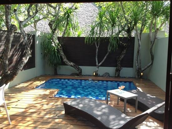 Downtown Villas: private pool in one bedroom villa