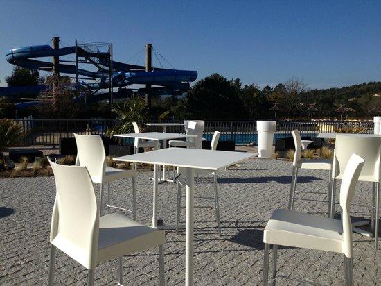 Domaine des Naïades : Nouveau / New bar restaurant: Le Lys