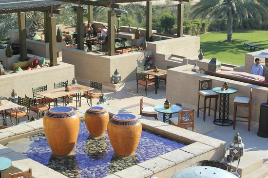 Bab Al Shams Desert Resort & Spa: rooftop lounge