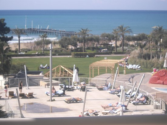 Sueno Hotels Beach Side: vue de la chambre