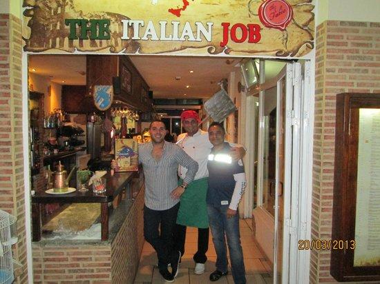 The Italian Job : Fabio, Luka and Chef