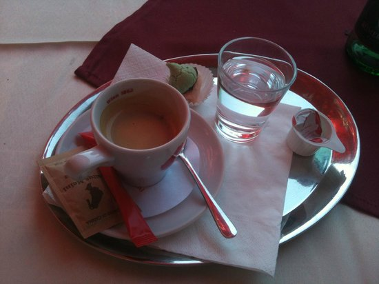 Hotel Therma: coffe was good