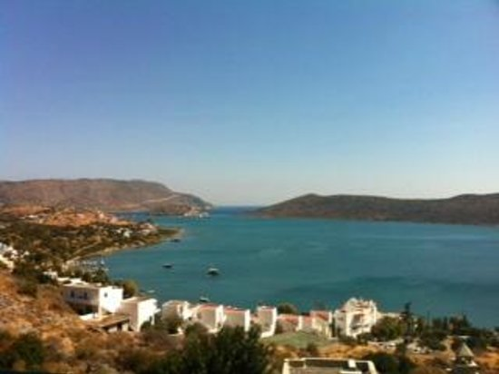 SENTIDO Elounda Blu: view from balcony 2