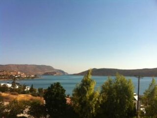 SENTIDO Elounda Blu: view from balcony 1