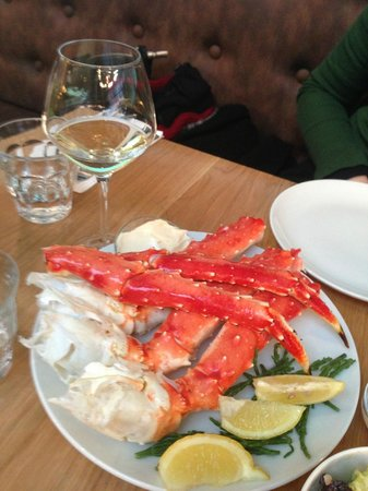 King crab foto van the seafood bar amsterdam tripadvisor for Seafood bar van baerlestraat amsterdam