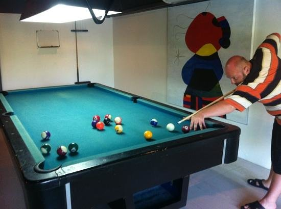 Novotel Phuket Kata Avista Resort and Spa: billiard
